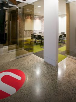 U Leisure polished concrete floors